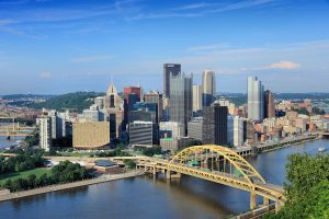 Pittsburgh Skyline City of Bridges